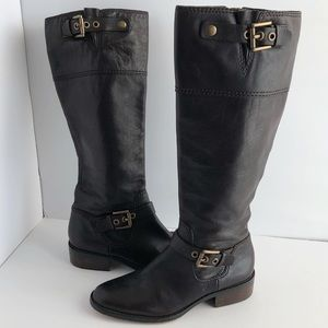 Coach Jacinda Brown Leather tall boots, SZ 7 1/2